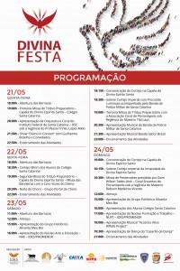 Festa do Divino 2015 - Programação