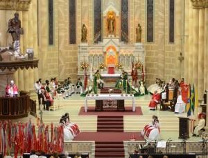 Festa do Divino da Paróquia Santíssimo Sacramento, Itajaí, 2014.