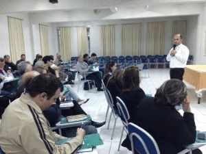 Ecônomo da Arquidiocese, Pe. Leandro Rech