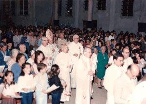 Inauguração da Paróquia há 25 anos