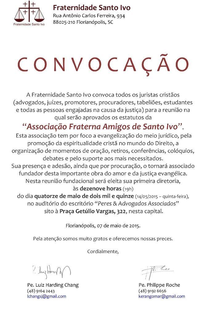 carta_conv - fraternidade_sto_ivo
