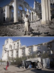 Foto: Associated  Press, terremoto no Haiti em 2010