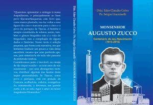 O livro sobre Monsenhor Augusto Zucco pode ser adquirido na Paróquia de Tijucas.