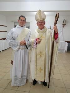 Dom Jaime (Arcebispo de Porto Alegre) e Frei Douglas