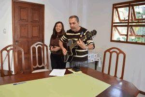 Bernardo e Simone, da Comunidade Abbá Pai, na música do Ano da Misericórdia aprovada pela Comissão.