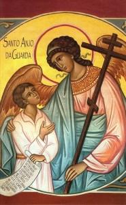 ícone - anjo da guarda