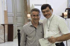 Padre Revelino com Pe. Eliomar