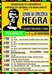 Coloninha - Cartaz - Semana da Consciencia Negra.cdr
