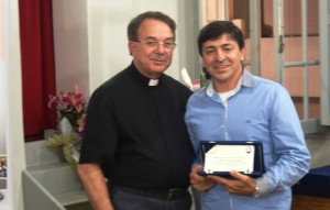 Padre David e o Diácono de Itajaí, Juarez Blanger