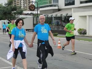 Presidente da ASA, Diácono Djalma e esposa.