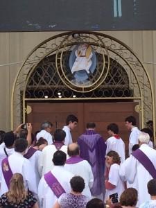 Abertura da Porta da Misericórdia na Forania de Brusque