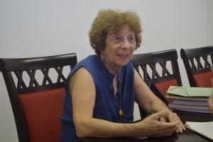 """Mafalda Pereira Böing: """"Viver é orar e orar é viver""""."""
