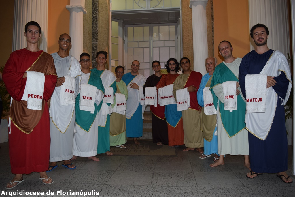 Missa do Lava-Pés na Catedral