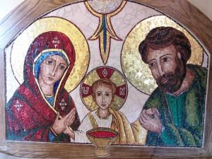 Sagrada Família - ícone da Trindade