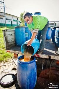 REÓLEO | Processo de coleta da Ambiental Santos