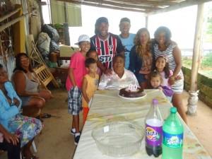Ondina Machado teve dez filhos que nasceram em casa
