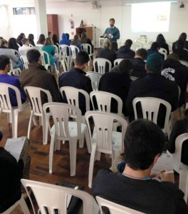 Professor da UFSC e da FACASC, Thiago Chaves, falou sobre liderança cristã.