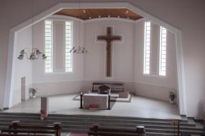 Novo altar da Paróquia.  Fotógrafo: Everton Marcelino