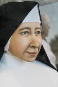 Desde dezembro de 2015, devotos podem conhecer no Santuário a nova face de Santa Paulina reconstruída em recnologia 3D.