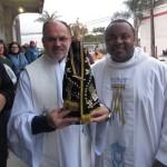 Padre André e Frei Rogério