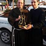 Padre Pedro Paulo (Anitápolis) e Frei Daneil Dellandrea (Sto Amaro)