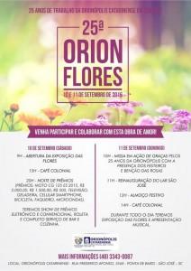 Cartaz orionflores