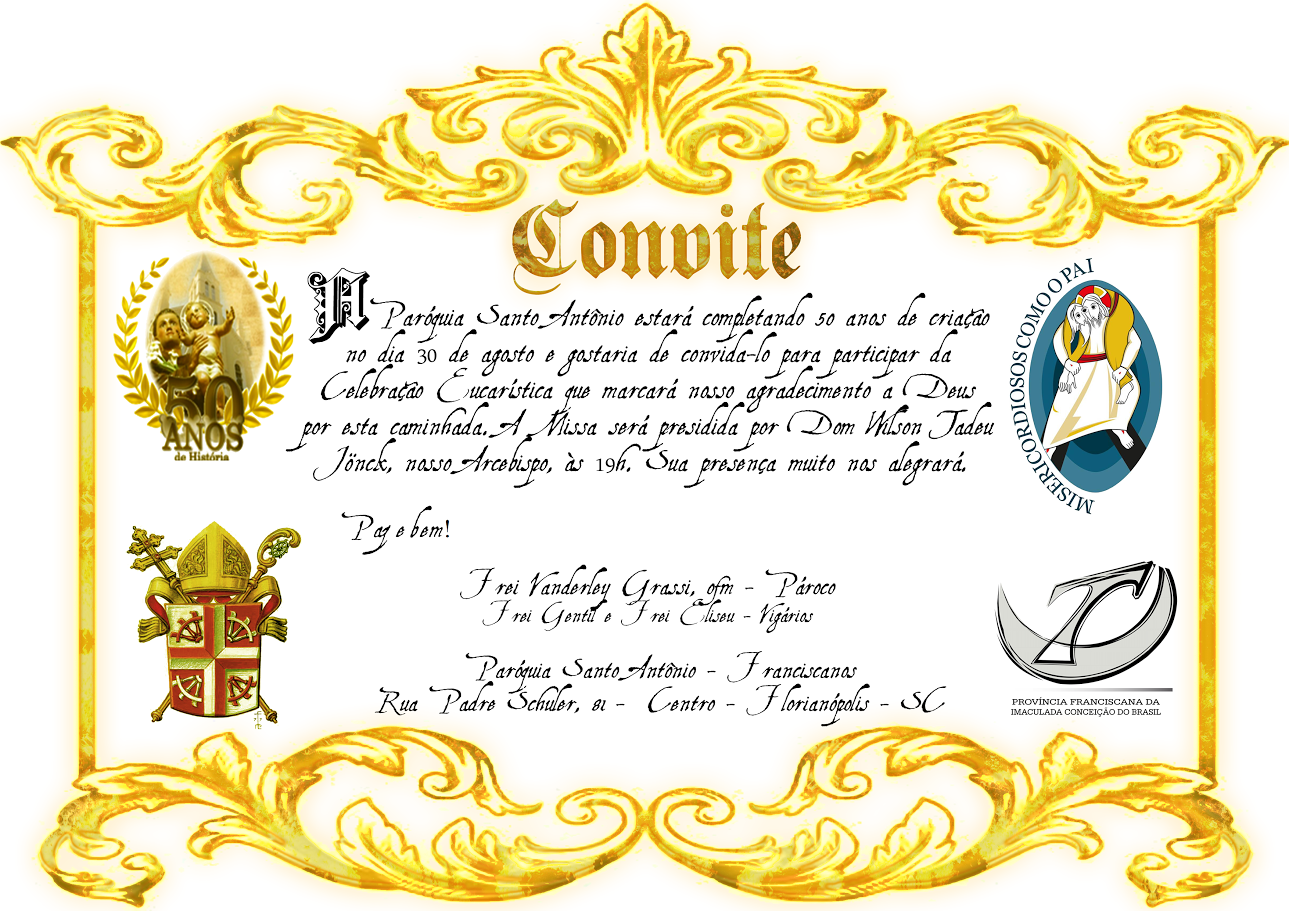 Jubileu Ouro Paróquia Santo Antonio