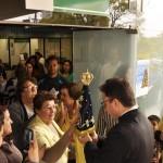Imagem de Nossa Senhora Aparecida no Hospital Infantil em Florianópolis