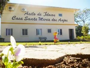 Fachada da Casa Santa Maria dos Anjos. Foto: José Allison Santos