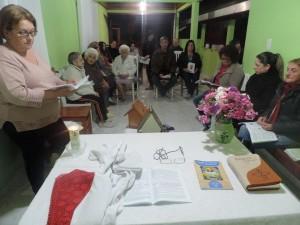 Os GBF se reúnem semanalmente para meditar a palavra