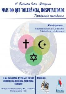 Encontro inter religioso 2016 CARTAZ.cdr