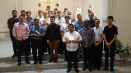 Seminaristas de Florianópolis e Tubarão