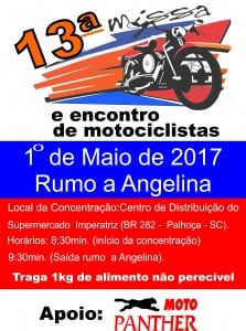 Cartaz13aMissaMotociclista