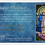 Convite Diaconal Paulo X6 curvas