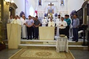 Seminaristas da teologia. Rezemos por novas vocações sacerdotais.